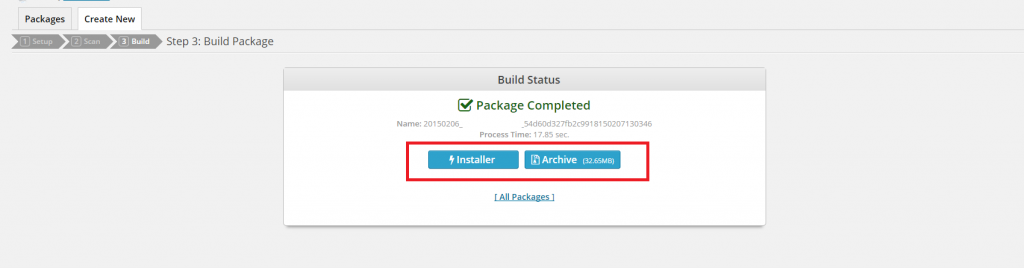 download-installer-package