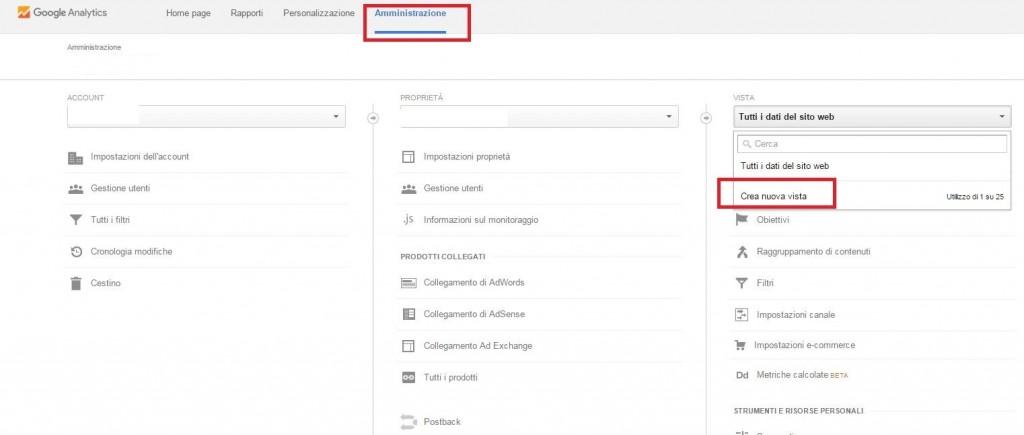 creare-vista-google-analytics