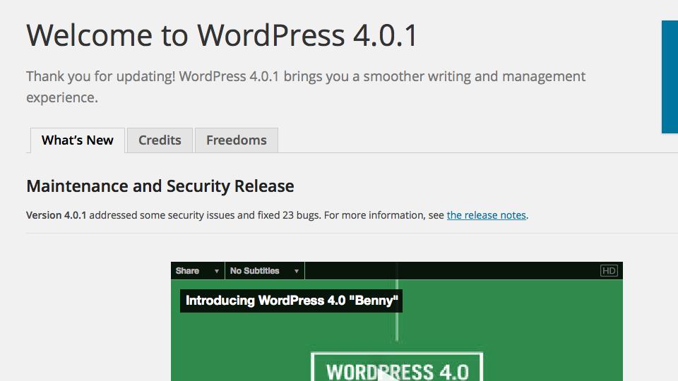 aggiornamento-WordPress-4.0.1